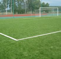 Футбольная площадка с искусственной травой